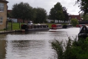 Our mooring in Hungerford